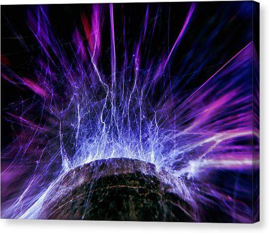 Spider Web Canvas Print - Untitled Cobweb by Julian Cook