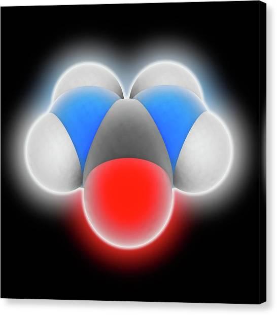 Biochemistry Canvas Print - Urea Molecule by Laguna Design