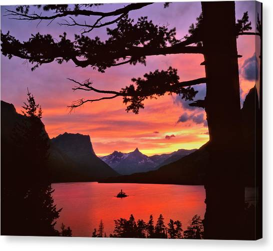 Cloud Forests Canvas Print - Usa, Montana, Glacier National Park by Jaynes Gallery