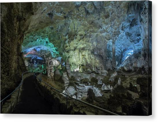 Caverns Canvas Print - Usa, New Mexico, Carlsbad Caverns by Jaynes Gallery
