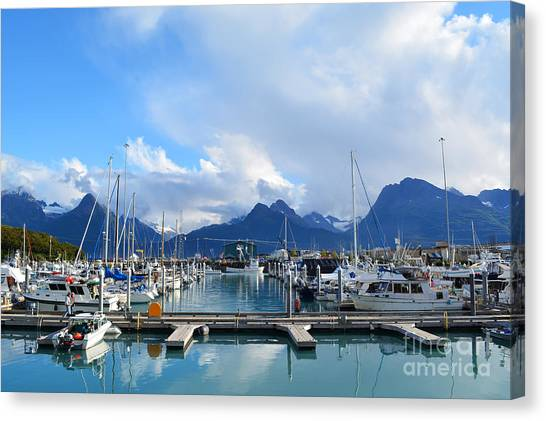 Canvas Print featuring the photograph Valdez by Kate Avery