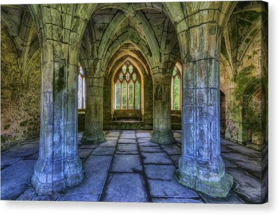 Valle Crucis Canvas Print