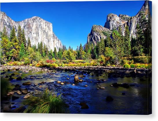 Valley View Yosemite National Park Canvas Print
