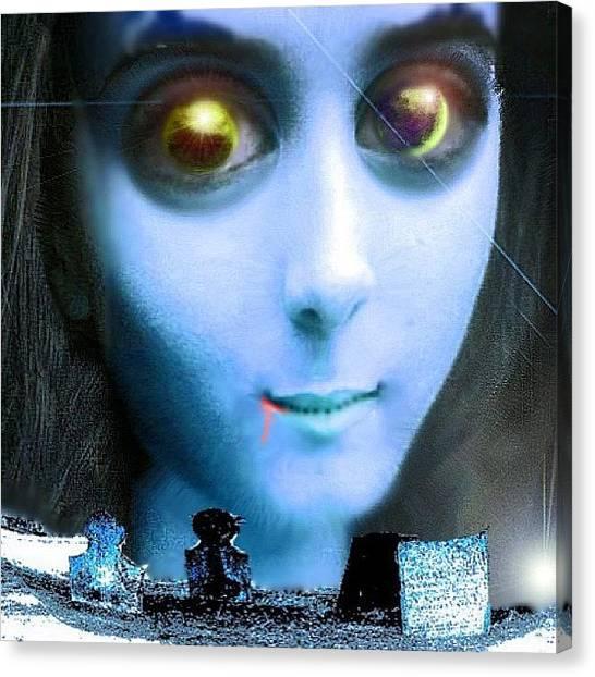 Judaism Canvas Print - Vampire Girlfriend by Urbane Alien