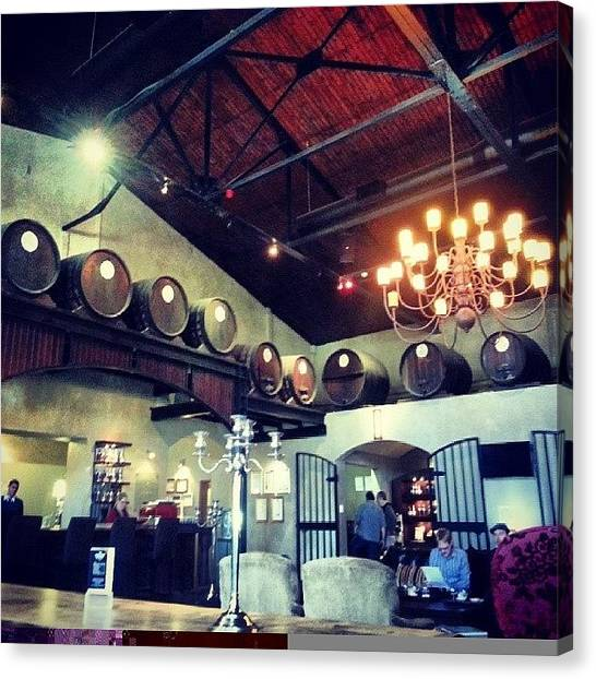 Distillery Canvas Print - #vanryns #brandy #distillery by Carine Groenewald