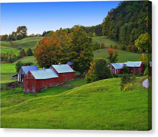 Vermont's Jenne Farm Canvas Print