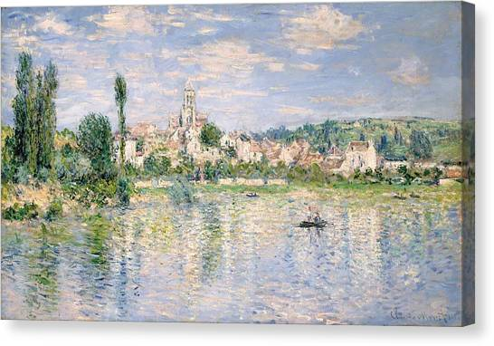 The Metropolitan Museum Of Art Canvas Print - Vetheuil In Summer by Claude Monet