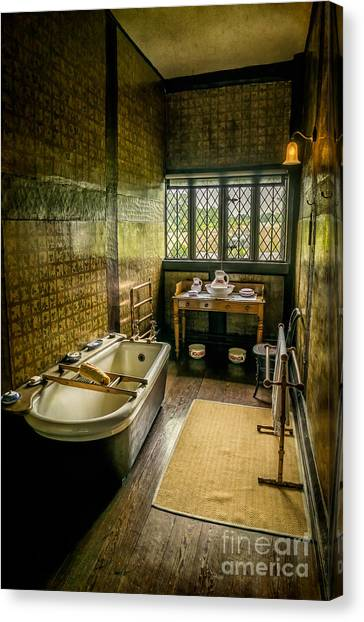 Rack Canvas Print - Victorian Wash Room by Adrian Evans