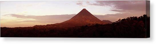 Arenal Volcano Canvas Print - View Of Arenal Volcano National Park by Panoramic Images