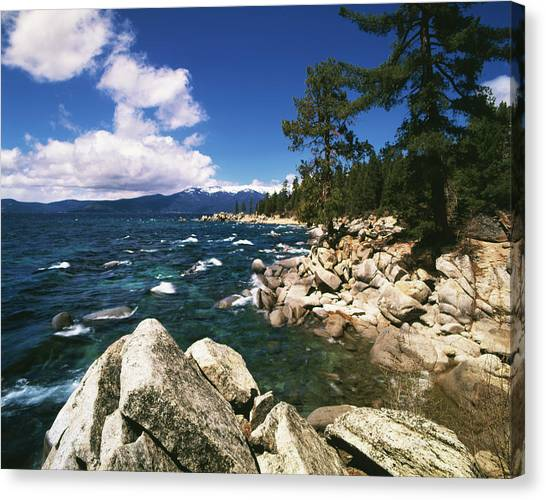 View Of Lake Tahoe, Nevada State Park Canvas Print
