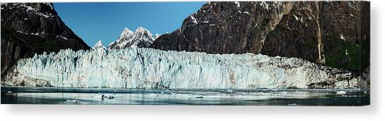 Margerie Glacier Canvas Print - View Of Margerie Glacier In Glacier Bay by Panoramic Images