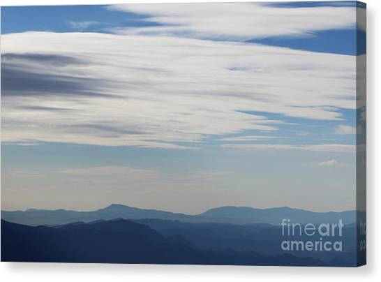 Views From Mt. Elbert Canvas Print