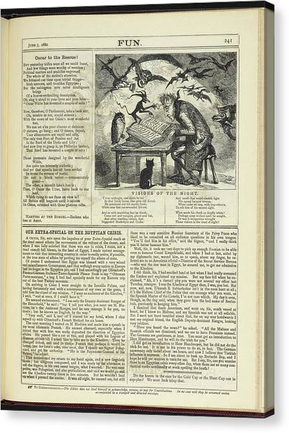 Mythological Creatures Canvas Print - Visions Of The Night by British Library