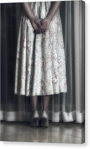 Desparation Canvas Print - Waiting by Joana Kruse