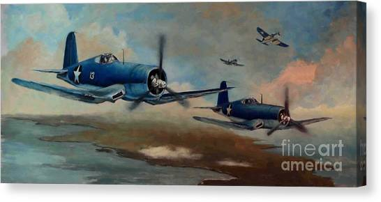 Walsh's Flight Color Study Canvas Print