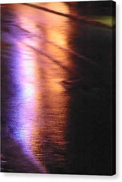 Water Colours 12 Canvas Print by Bernie Smolnik