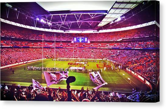 Stadiums Canvas Print - Wembley Stadium by Chris Drake