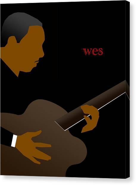 Canvas Print - Wes Montgomery by Victor Bailey