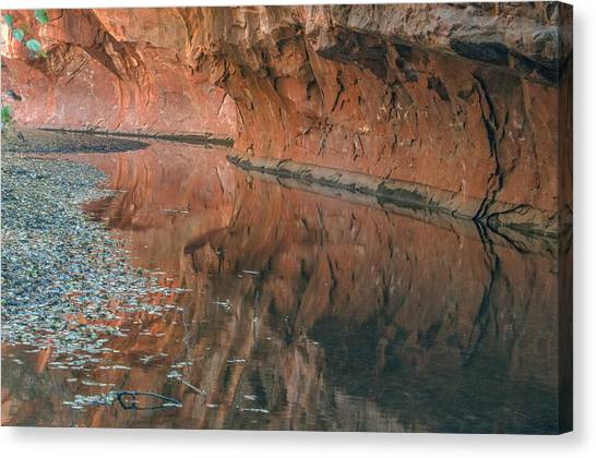 West Fork Reflection Canvas Print