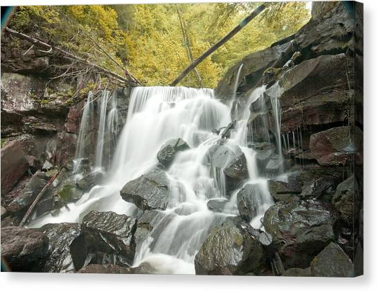 West Virginia Waterfall Canvas Print