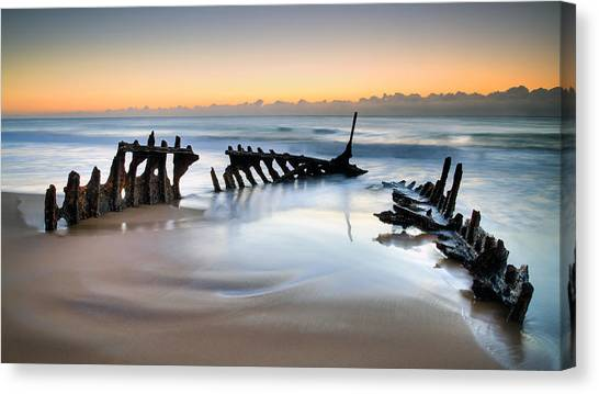 What Lies Beneath 1 Canvas Print