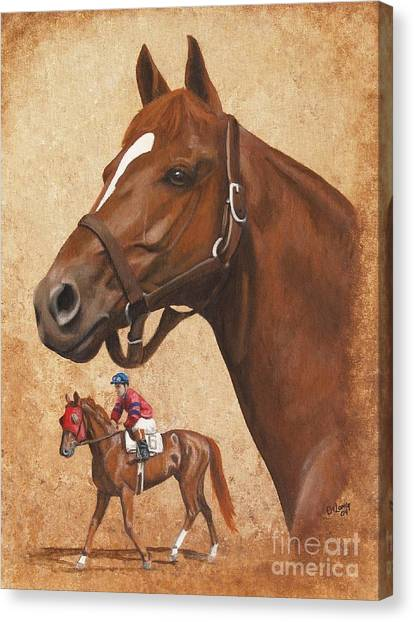 Whirlaway Canvas Print