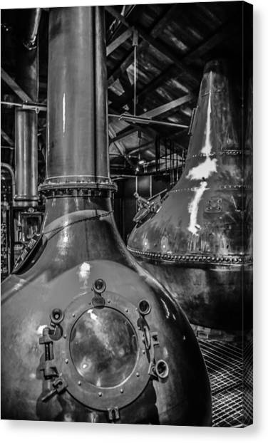 Whiskey Works Canvas Print