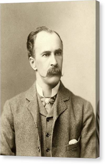 1880s Canvas Print - William Osler by National Library Of Medicine