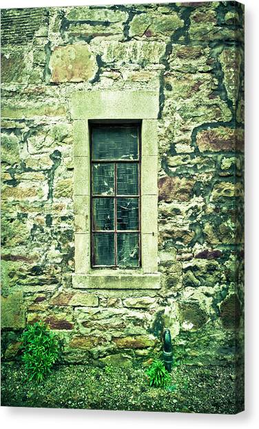 Haunted House Canvas Print - Window by Tom Gowanlock