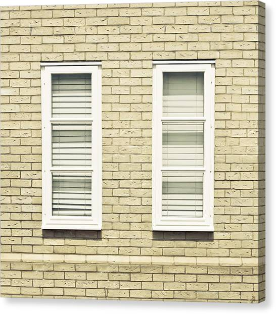 Window Canvas Print - Windows by Tom Gowanlock