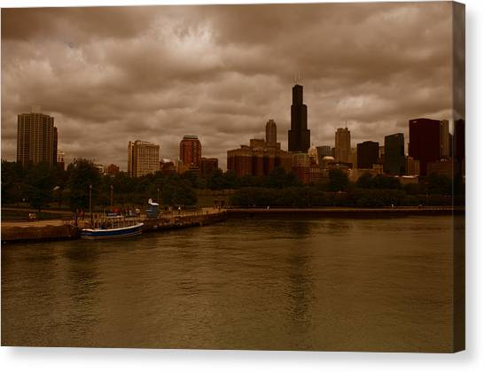 Windy City Canvas Print