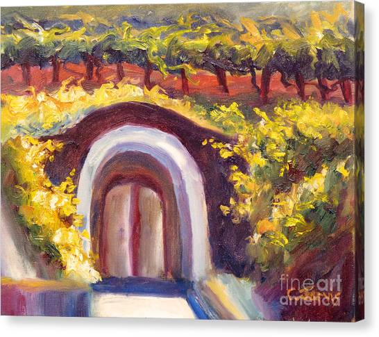 Wine Cave Canvas Print