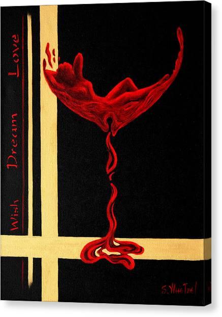 Wine Dream Canvas Print