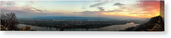 Winona Sunrise Panorama Canvas Print