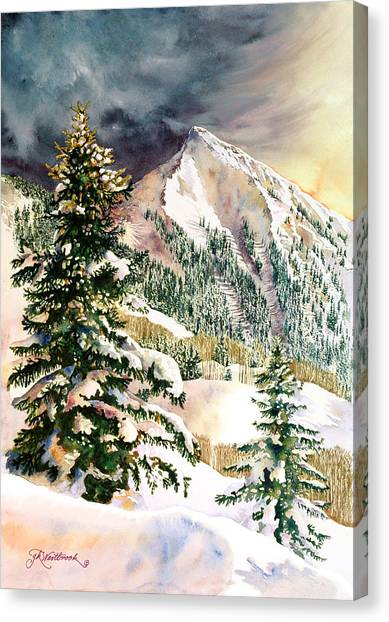Winter Morning Prism Canvas Print