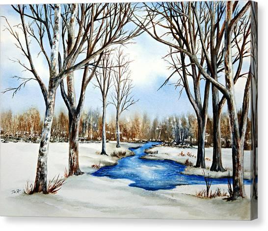 Winter Respite Canvas Print