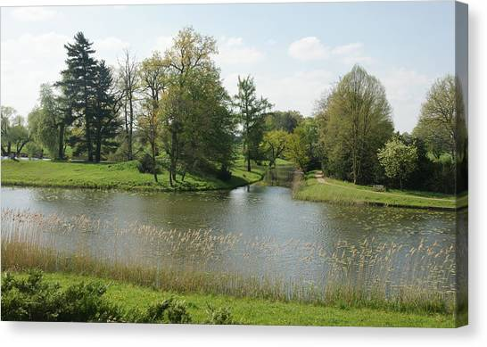 Woerlitzer Park Canvas Print by Olaf Christian