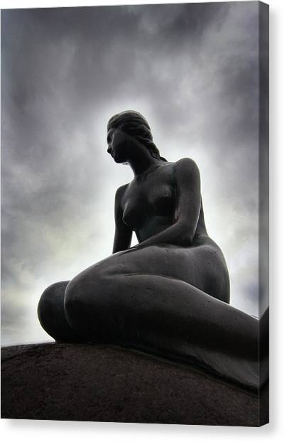 Woman Standing Strong Canvas Print