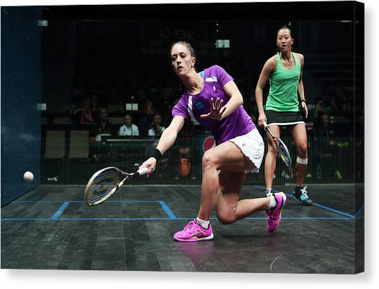 Women's World Team Squash Championship 2014 Canvas Print by Vaughn Ridley