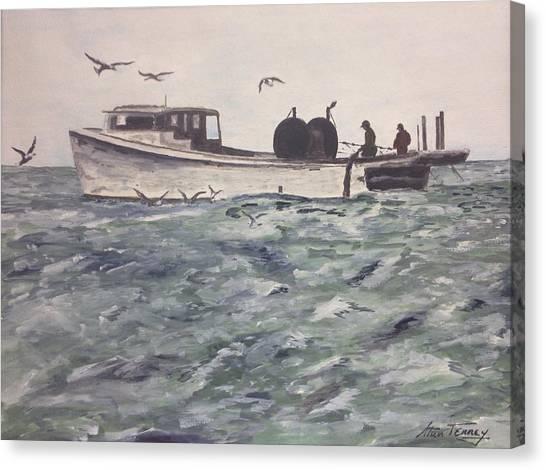 Workboat Canvas Print