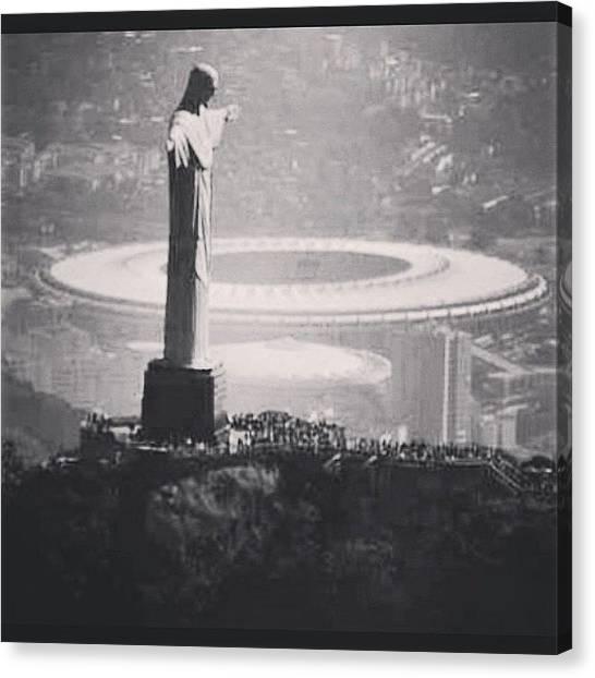 World Cup Canvas Print - World Cup Soccer by Julian Bzlin