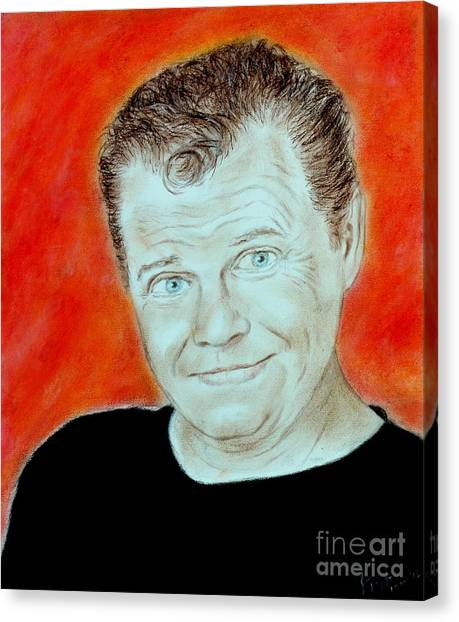 Jim Carrey Canvas Print - Wrestling Legend Jerry The King Lawler by Jim Fitzpatrick