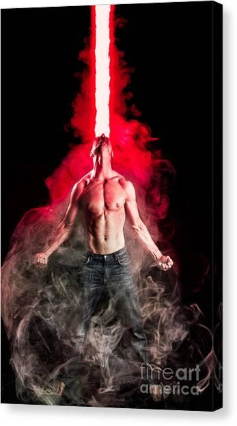 Cyclops Canvas Print - X-men Cyclops  by Jt PhotoDesign