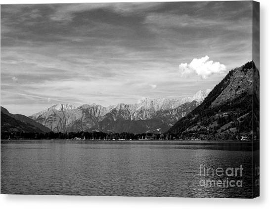 Zell Am See Canvas Print