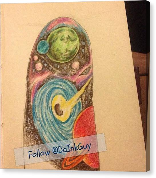 Realism Art Canvas Print - #art #artist #tattoo #fun #inked by Terrence  Fields