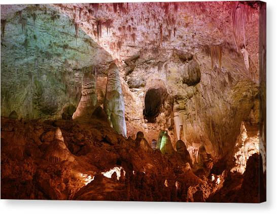 Carlsbad Caverns Canvas Print - Carlsbad Cavern by Alexey Stiop