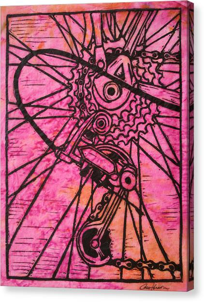 Derailluer Canvas Print