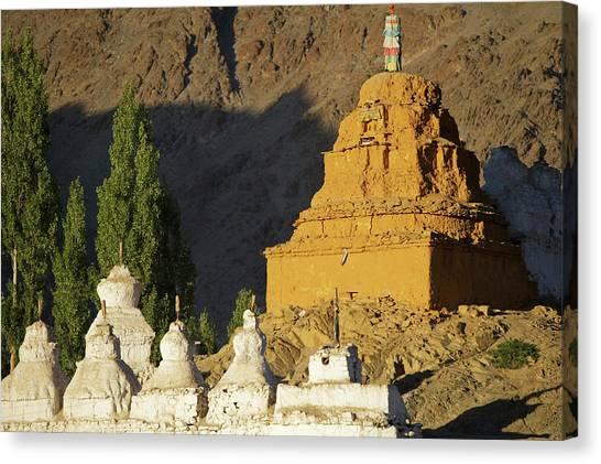 Karakoram Canvas Print - Ladakh, India Religious Structures by Jaina Mishra