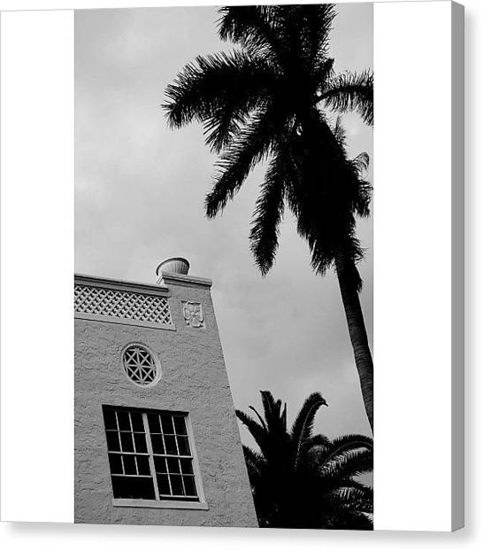 Iger Canvas Print - {miami Beach's Art Deco}  In 1979 by Joel Lopez