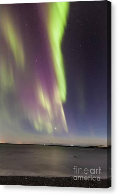 Northern Lights Iceland Canvas Print